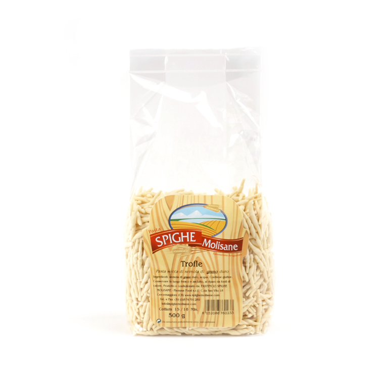 Pasta Trofie Spighe Molisane - Confezione da 500gr.