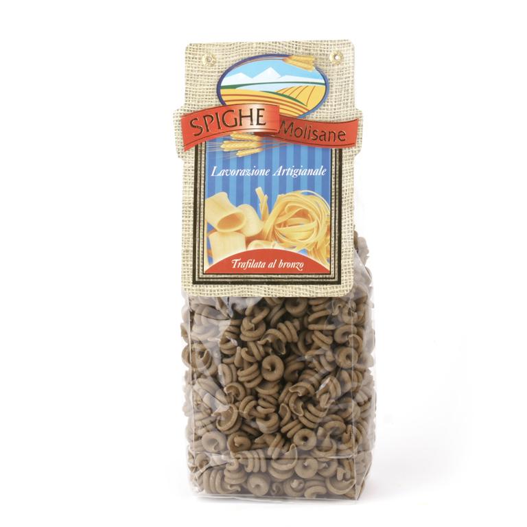 Pasta trottole alla canapa - Spighe Molisane - Confezione da 500gr. - Cod. 8052086760356